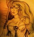 she warrior of the magic sword