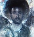 Antonio Mancini - Self portrait