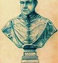 Paul Gosselin  -  Self portrait
