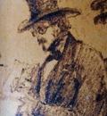 François Böhm  -  Self portrait