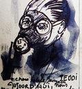René Magritte - Self portrait