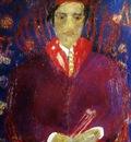 Jean Fusaro - Self portrait