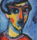 jawlensky head in blue