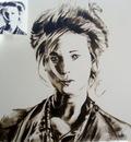 Geert coucke painting ,Selah Sue