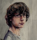 Geert Coucke Portrait painting(Robbert Coucke