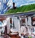 Study for Amina's House 3, Beatty, NV, USA