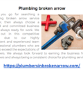 Plumbing broken arrow