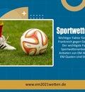 Sportwetten EM
