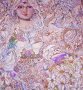 YUMI SUGAI.The angel of the lily.